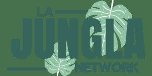 Logo Oficial La Jungla Network en verde